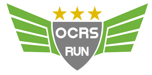 ocrs run carreras de obstaculos logo